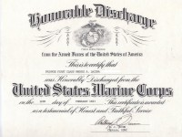 USMC Honorable Discharge_Feb 1983