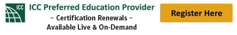 ICC Certification Renewal
